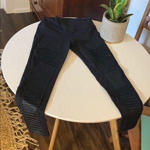 Alo high waist motto leggings medium